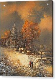 Winter Classic Acrylic Print