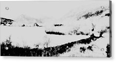 Winter Acrylic Print by Contemporary Art