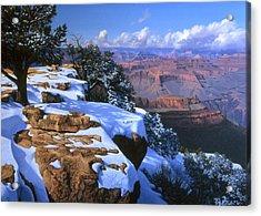 Winter Day At Grandeur Point Acrylic Print by John Cogan