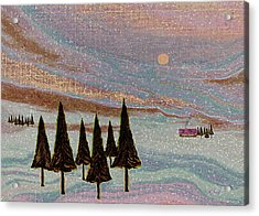 Winter Dream Acrylic Print by Gordon Beck