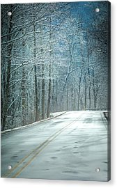 Winter Dreams Acrylic Print by Karen Wiles