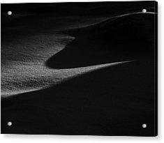 Winter Dunes Acrylic Print by Stan Wojtaszek