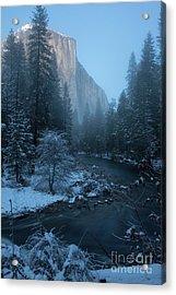 Winter El Cap  Acrylic Print