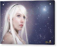 Winter Fae Acrylic Print