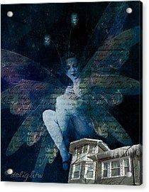 Winter Fairy Acrylic Print