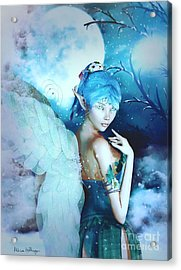 Winter Fairy In The Mist Acrylic Print
