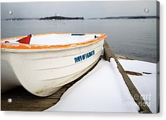 Winter, Falmouth, Maine  -18674 Acrylic Print