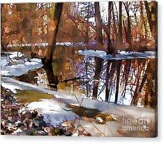 Winter Farewell Acrylic Print