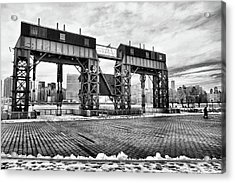 Winter Gantry Acrylic Print