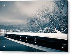 Winter Idyl Acrylic Print by Luka Matijevec