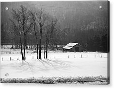 Acrylic Print featuring the photograph Winter In Boxley Valley by Michael Dougherty