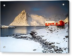 Winter In Lofoten Acrylic Print