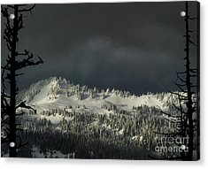 Winter In North Cascades Acrylic Print