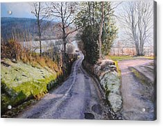 Winter In North Wales Acrylic Print