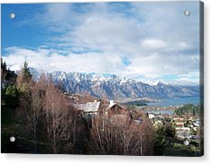 Winter In Queenstown Acrylic Print