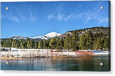 Winter In Ruidoso Acrylic Print