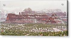 Winter In Sedona Acrylic Print