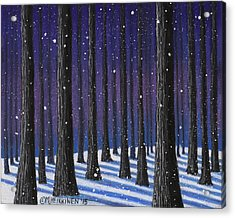Winter Is Coming 01 Acrylic Print