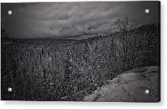 Acrylic Print featuring the photograph Winter Is Coming by Ryan Smith