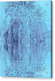 Winter Is Pretty Acrylic Print
