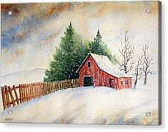 Winter Landscape IIi Acrylic Print