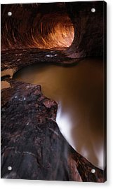 Acrylic Print featuring the photograph Winter Light by Dustin LeFevre