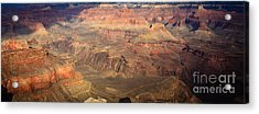 Winter Light In Grand Canyon Acrylic Print