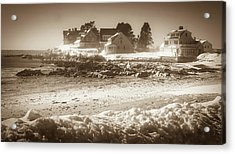 Winter - Lord's Point - Kennebunk Acrylic Print