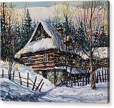 Winter Magic II  Acrylic Print