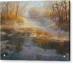 Winter Marsh Series / The Source Acrylic Print