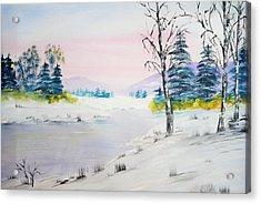 Winter Morn Acrylic Print
