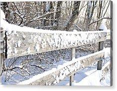 Winter Morning Acrylic Print by Thomas R Fletcher