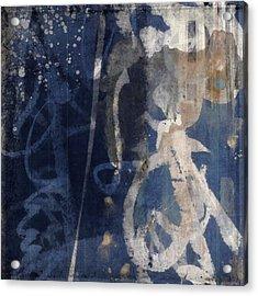 Winter Nights Series Three Of Six Acrylic Print by Carol Leigh