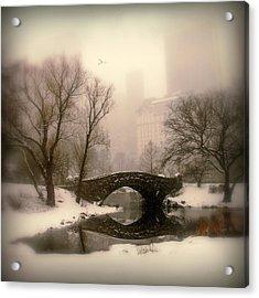 Winter Nostalgia Acrylic Print by Jessica Jenney