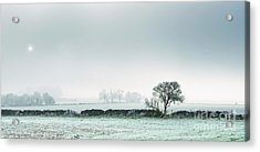 Winter On The Mendips Acrylic Print