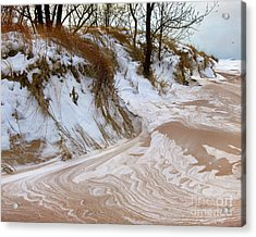 Winter Paints Acrylic Print