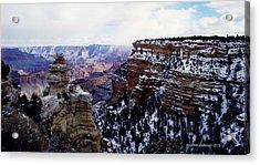 Winter Panorama Acrylic Print