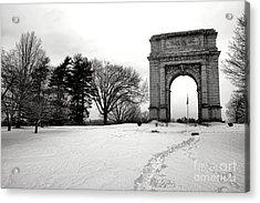 Winter Path To Glory Acrylic Print