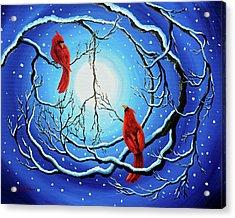 Winter Peace Acrylic Print