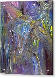 Winter Queen Acrylic Print by Karen L Christophersen