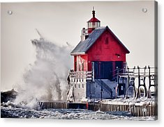 Winter  Rage Acrylic Print by James Marvin Phelps