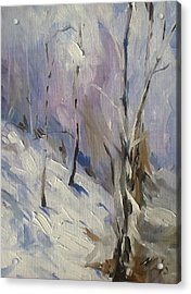 Winter Rage Acrylic Print