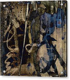 Winter Rains Series Three Of Six Acrylic Print by Carol Leigh