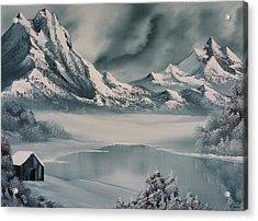 Winter Reflections Acrylic Print by John Koehler