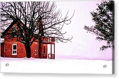 Winter Retreat Acrylic Print