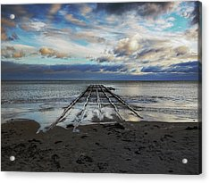 Winter Sea Acrylic Print