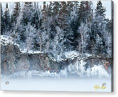 Winter Shore Acrylic Print