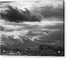 Winter Sky Acrylic Print by Rona Black