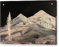 Winter Slumber Acrylic Print by John Vandebrooke