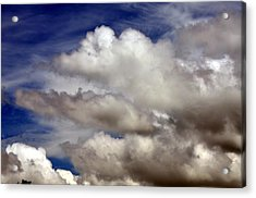Winter Snow Clouds Acrylic Print